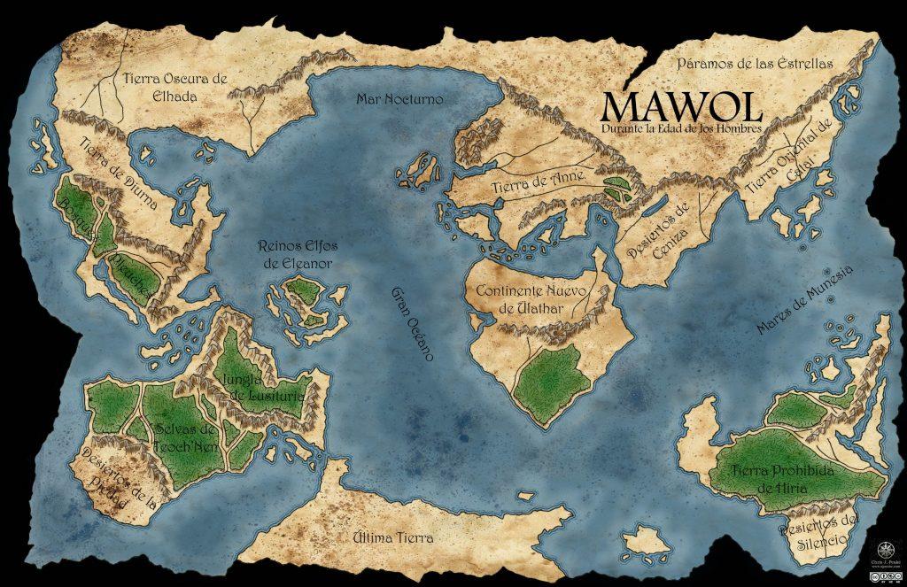 Mawol, durante la Edad de los Hombres