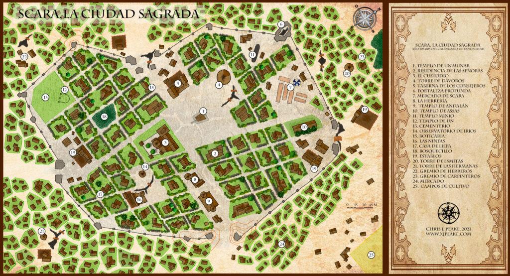 Scara, la Ciudad Sagrada