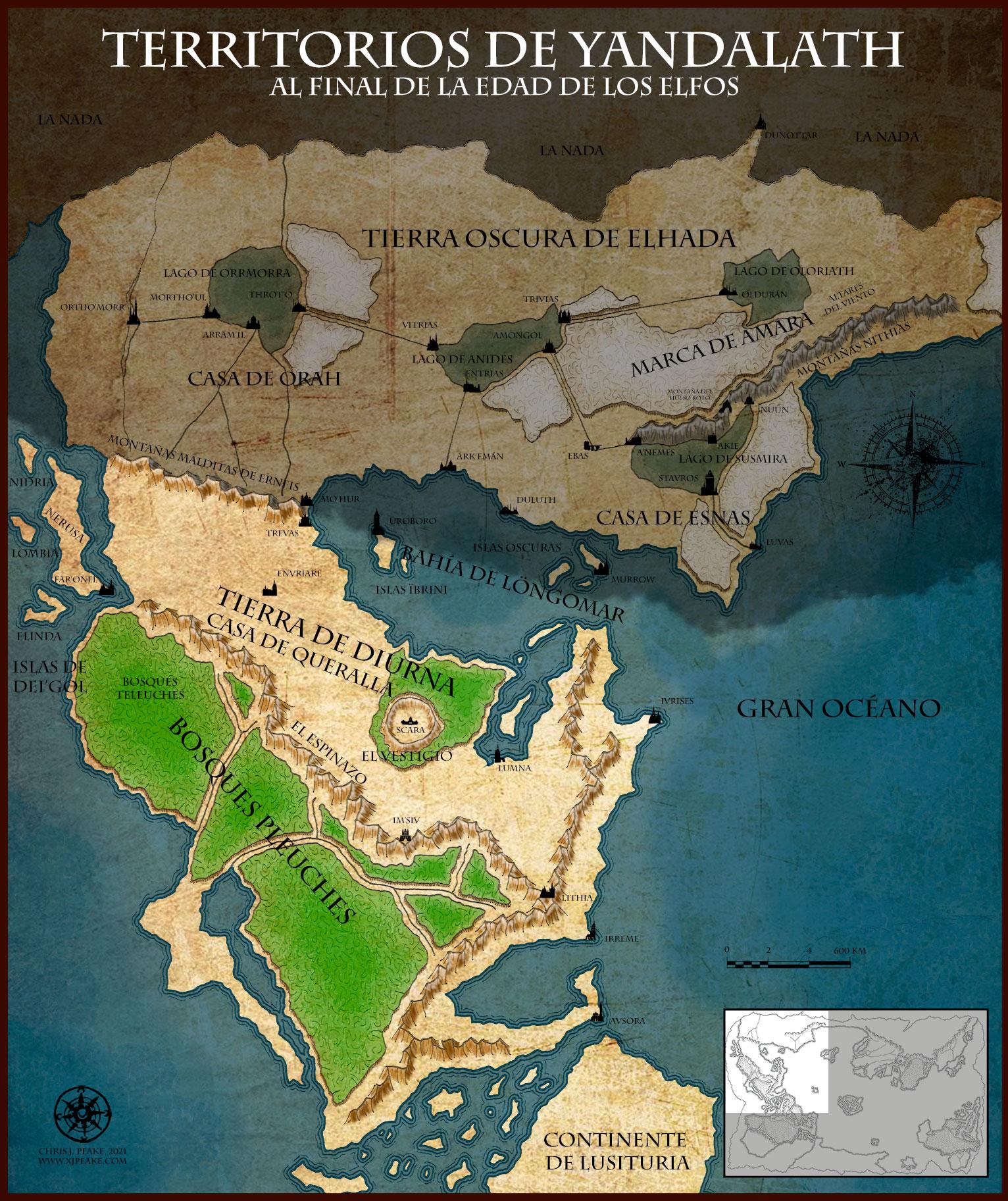 Territorios de los Elfos de Yandalath